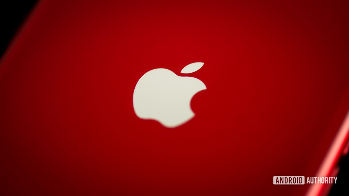 Apple Logo stock photo
