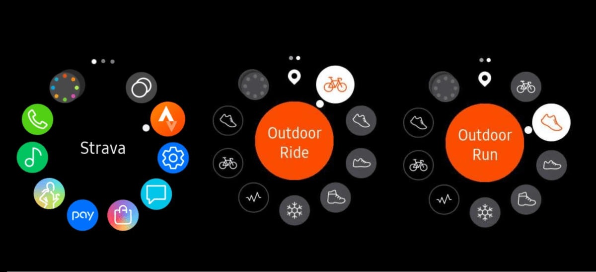 Melhores aplicativos para Galaxy Watch Active 2 Strava