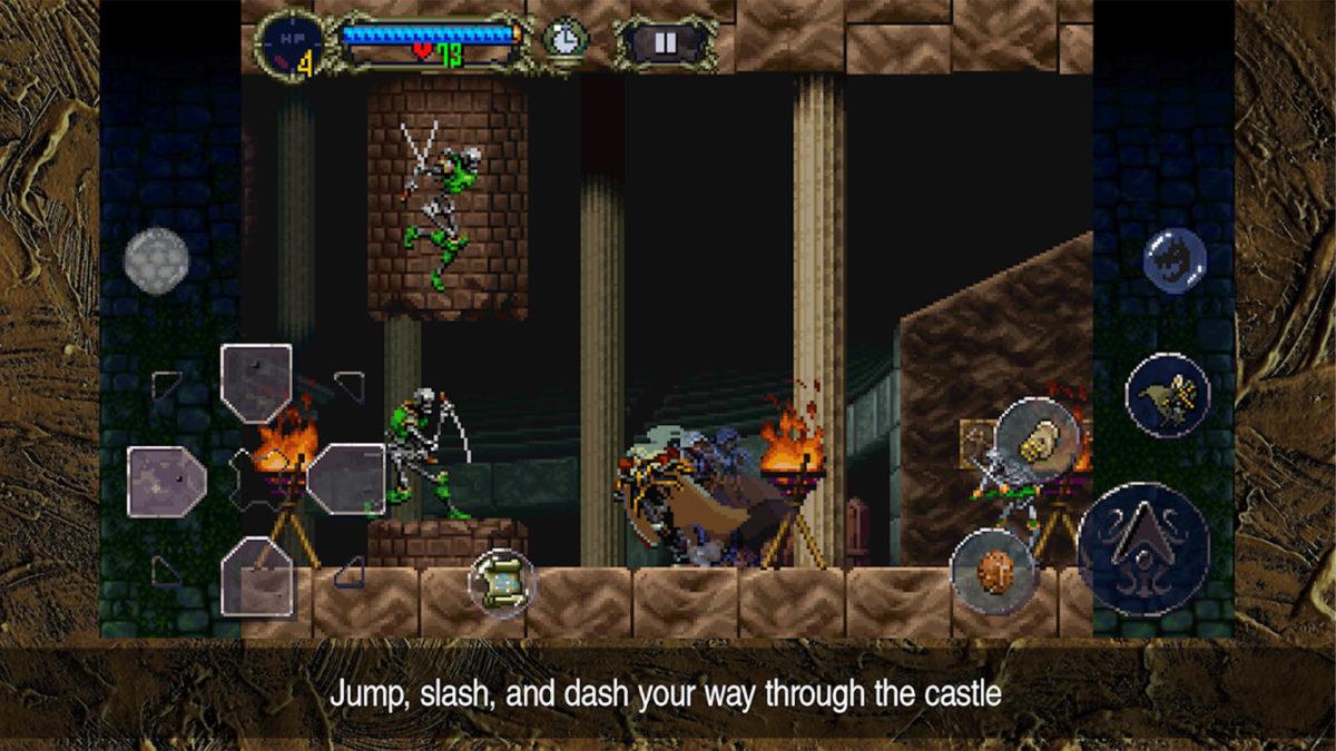 Castlevania Symphony of the Night лучшие игры Metroivania для Android