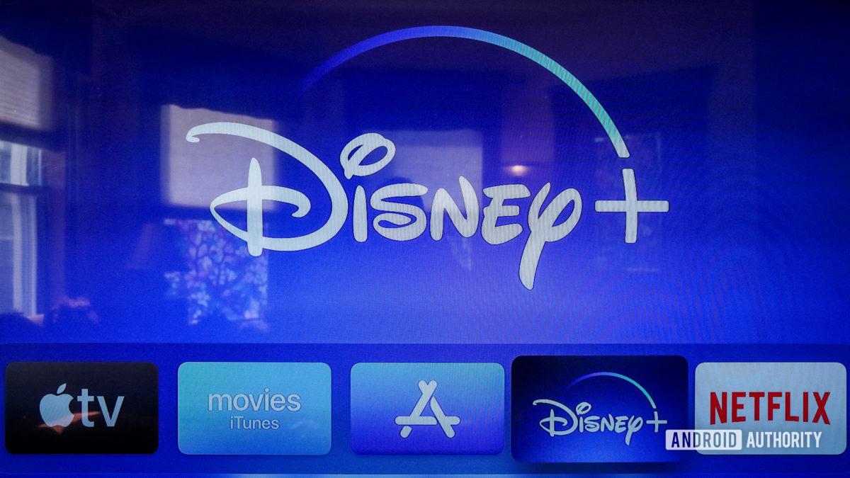 Disney Plus на Apple TV