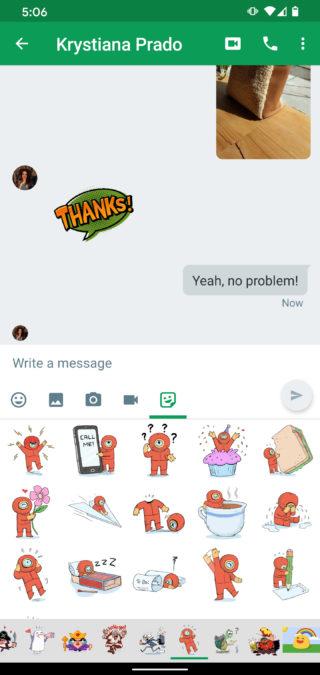 Приложение Google Hangouts 3