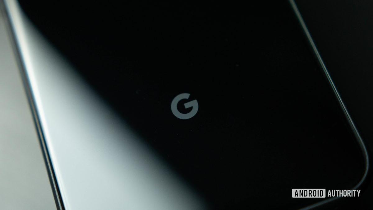 Pixel 4 do logotipo do Google