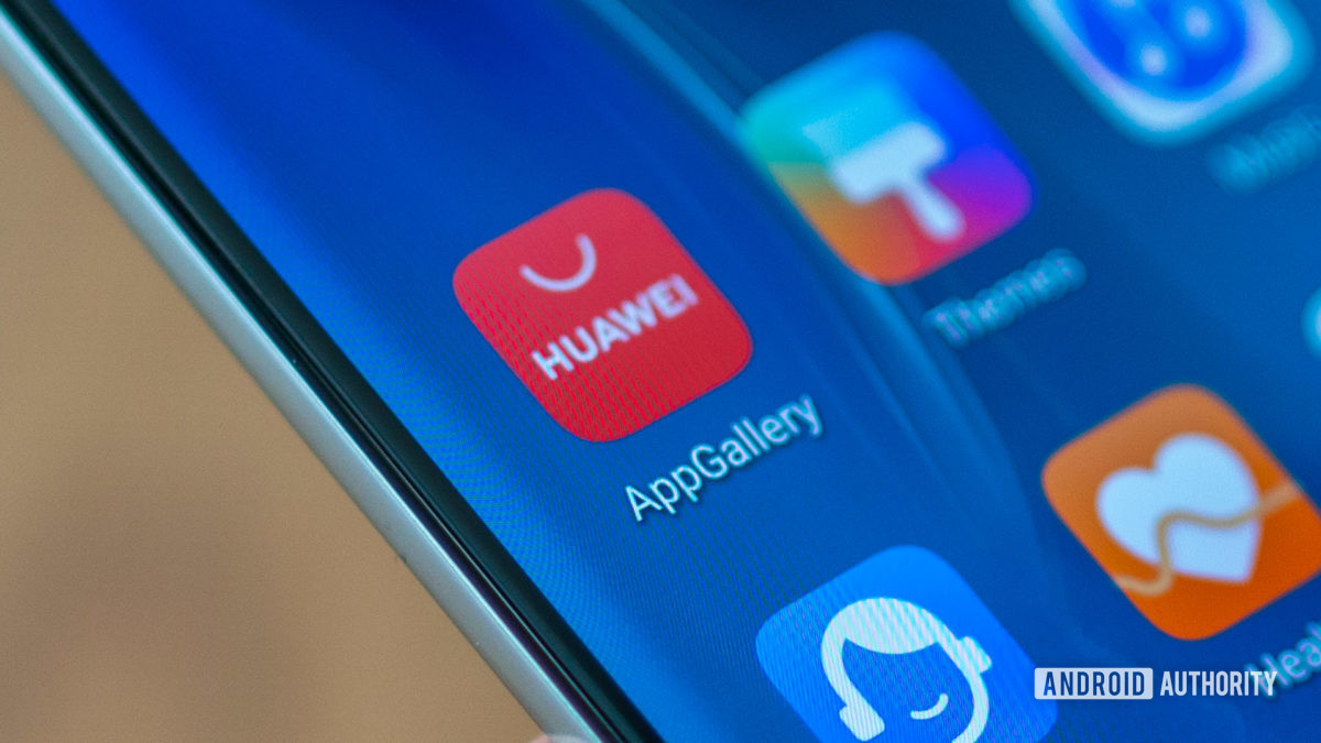 Huawei P40 Pro Значок галереи приложений Huawei
