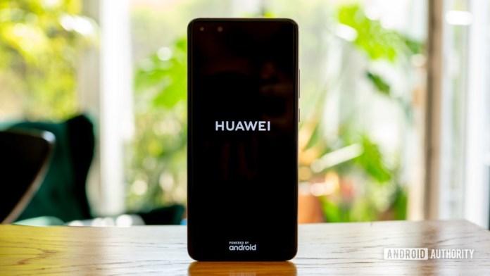 Huawei P40 Pro Huawei logo boot screen