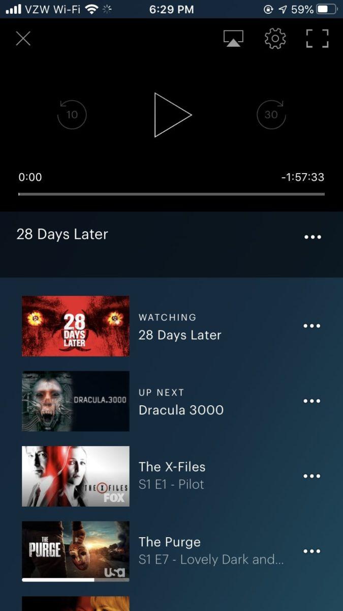 Приложение Hulu для iOS меняет язык и субтитры 1