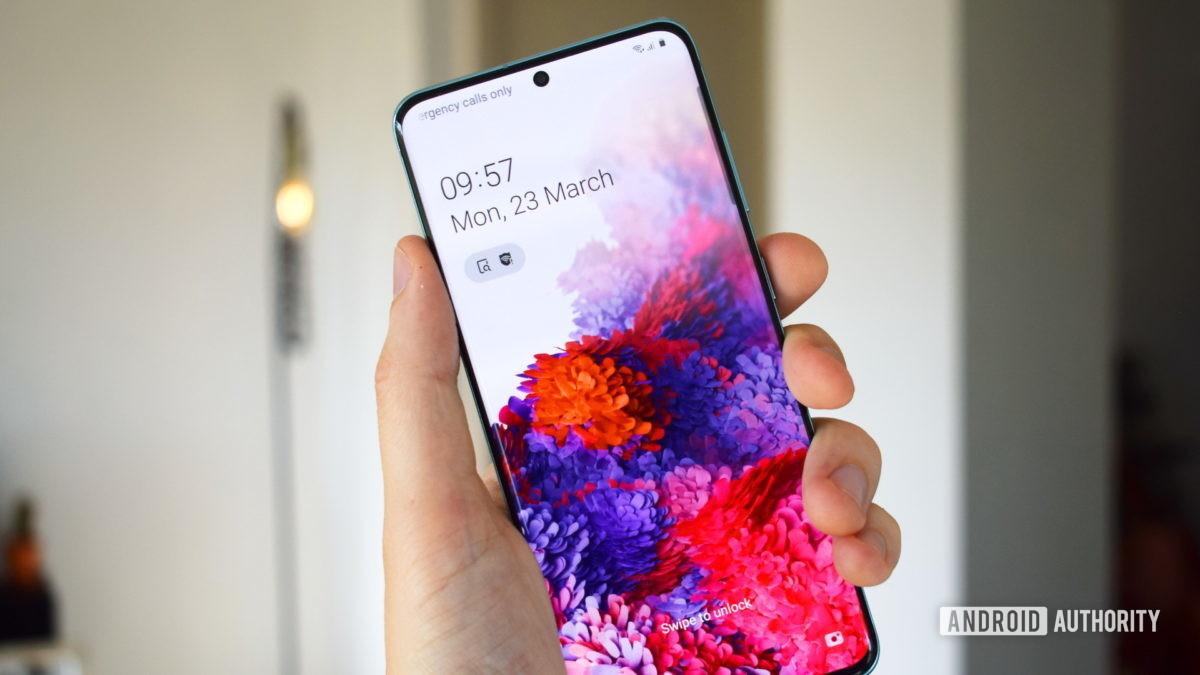 Samsung Galaxy S20 Дисплей 2