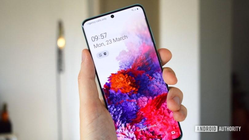 Samsung Galaxy S20 Display 2