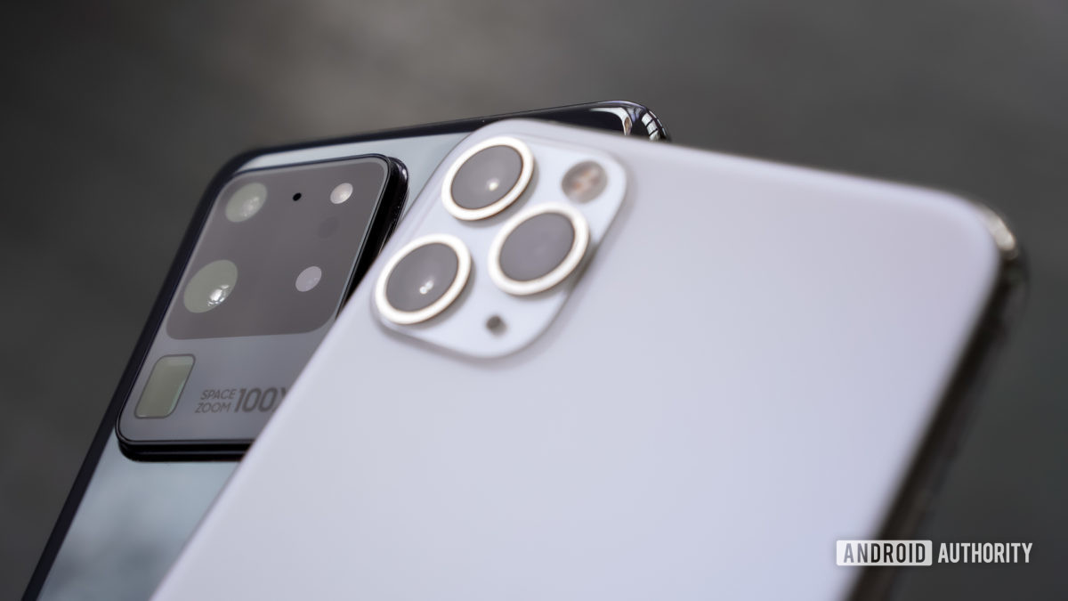 Samsung Galaxy S20 Ultra против Apple iPhone Pro Max 3