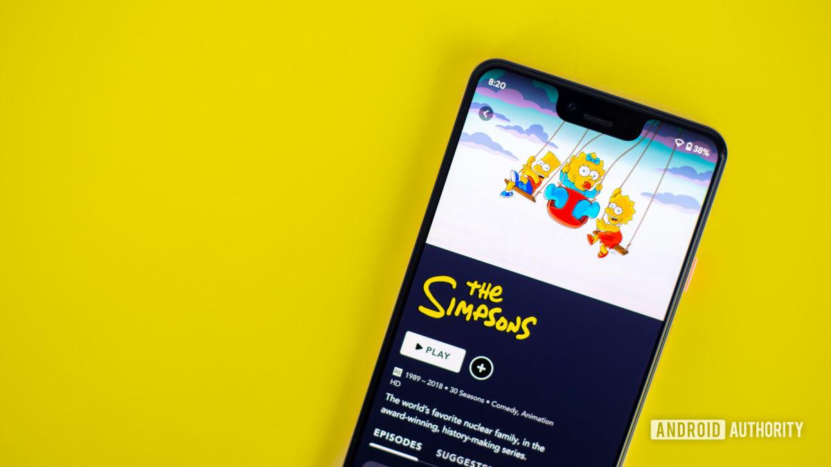 Симпсоны на Дисней Плюс приложение 2