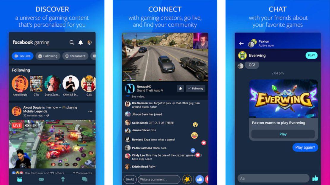 Facebook Gaming screenshot
