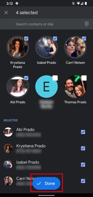 Групповой вызов Google Duo 6