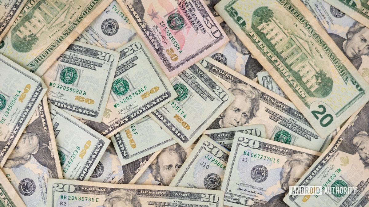 Деньги Stock Photo 1