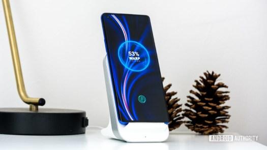OnePlus 8 Pro on warp charge pad 3