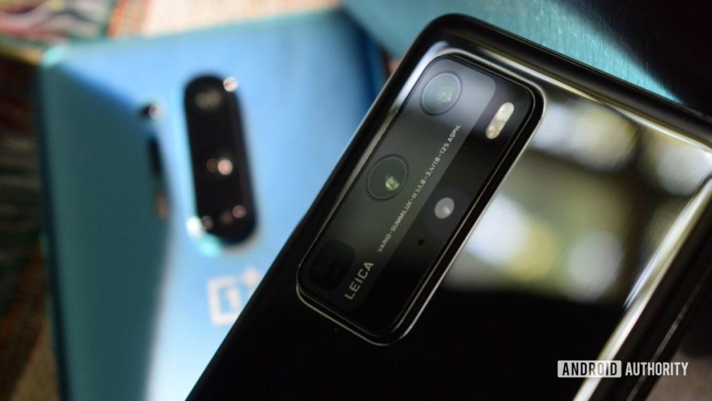OnePlus 8 Pro против камеры Huawei P40 Pro
