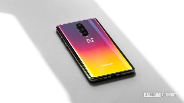 OnePlus 8 saturated back angle