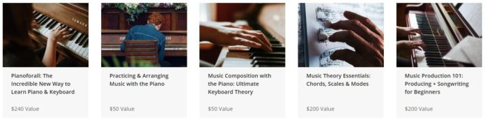 The Learn to Play the Piano and Music Composition Bundle