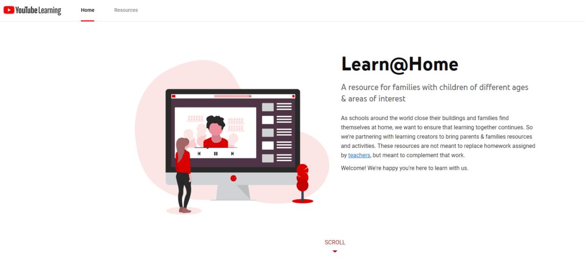 Youtube учиться дома бесплатно онлайн студенческие ресурсы
