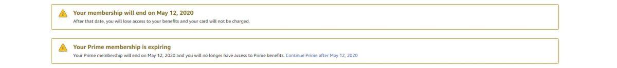 экран отмены членства в amazon Prime 4