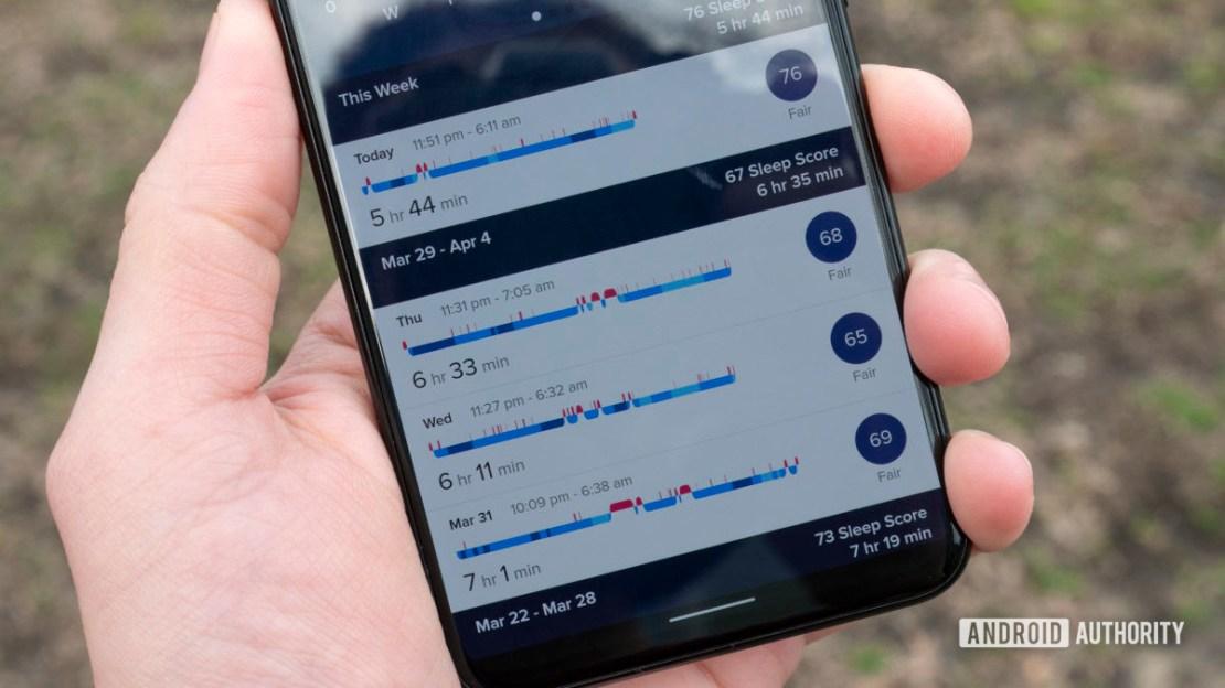 fitbit premium review get more sleep metrics guided program 2