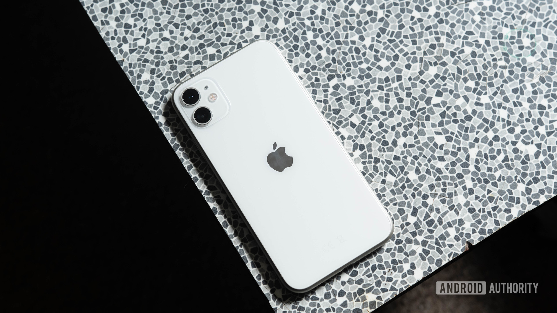 iPhone 11 on a table