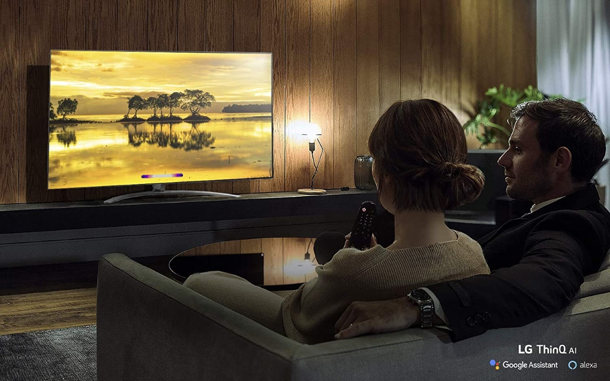 lg nanocell tv scene in best TV deals