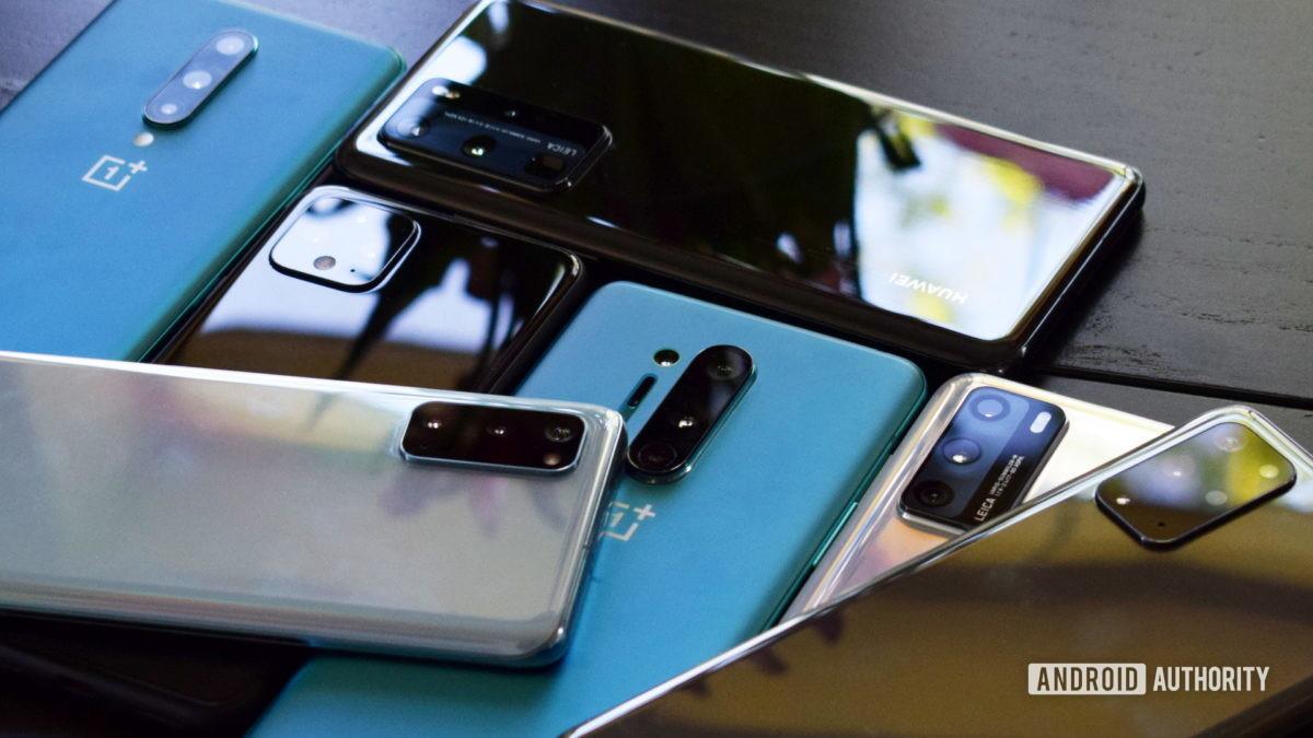 много смартфонов 1