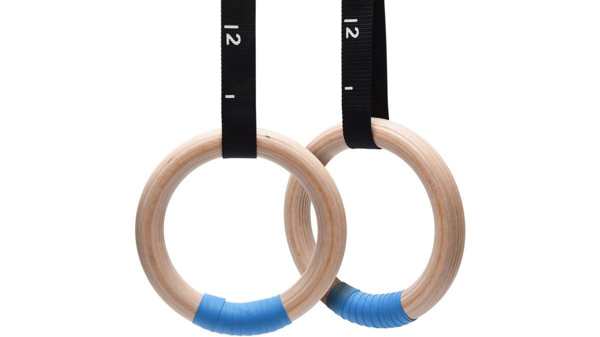 Кольца гимнастические с ручками 16х9