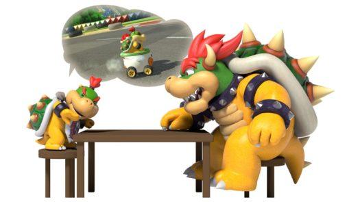 Mario Kart Bowser Jr