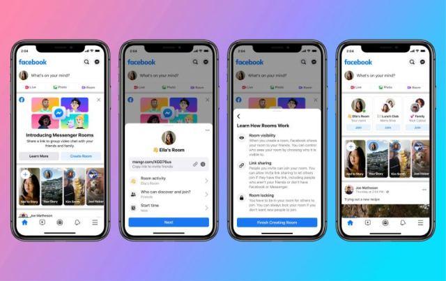 Facebook Uygulamasında Messenger Odaları