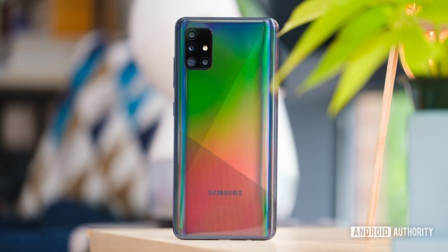 Samsung Galaxy A51 снова встал