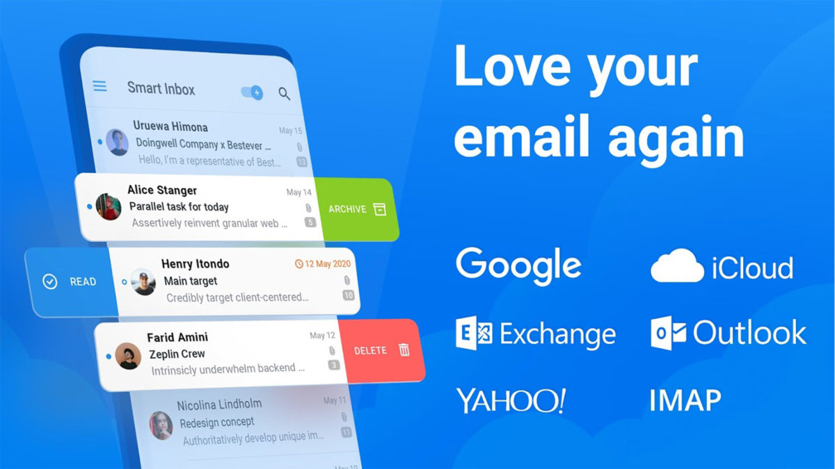 Spark Email screenshot