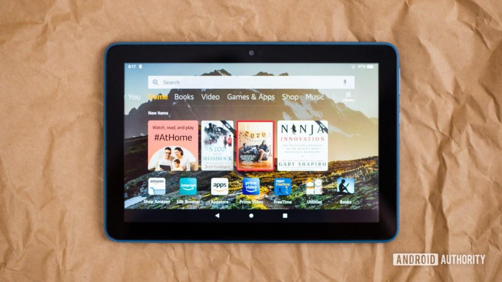 2020 Amazon Fire HD 8 обзор фотографий 11
