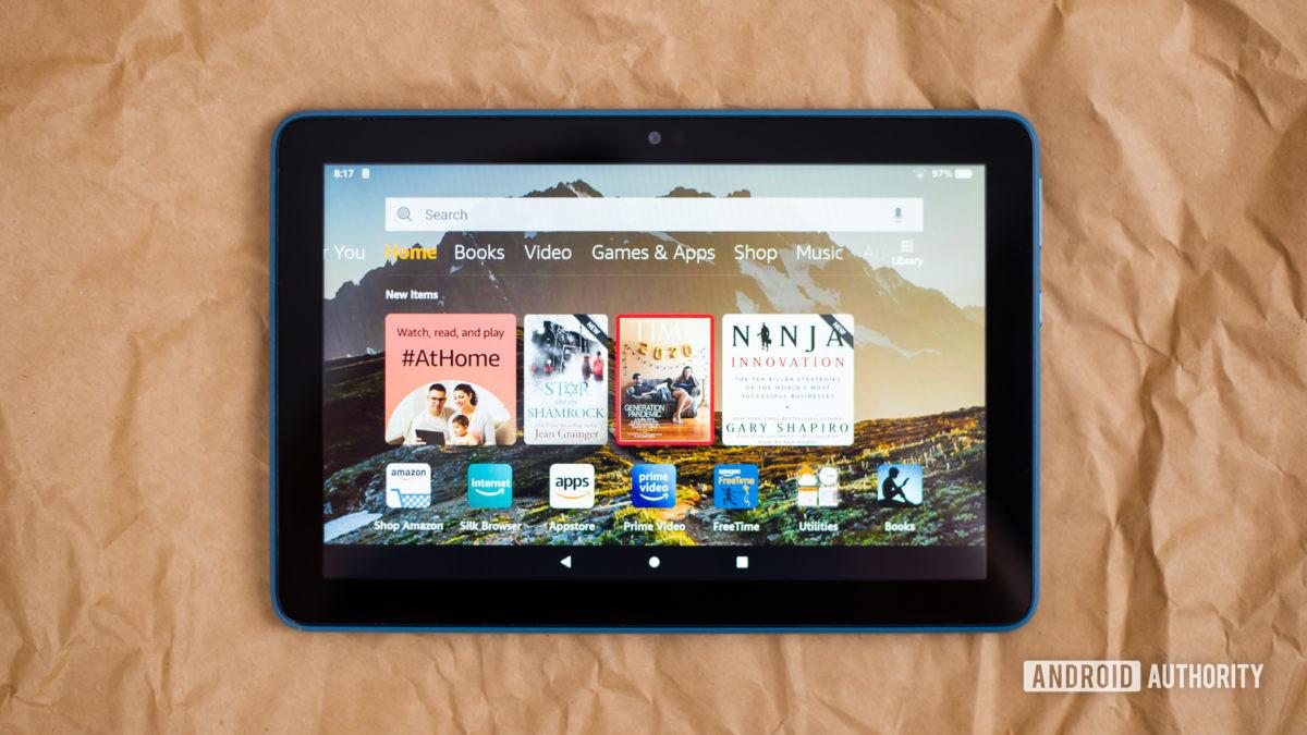 Amazon Fire HD 8 2020 обзор фото 11