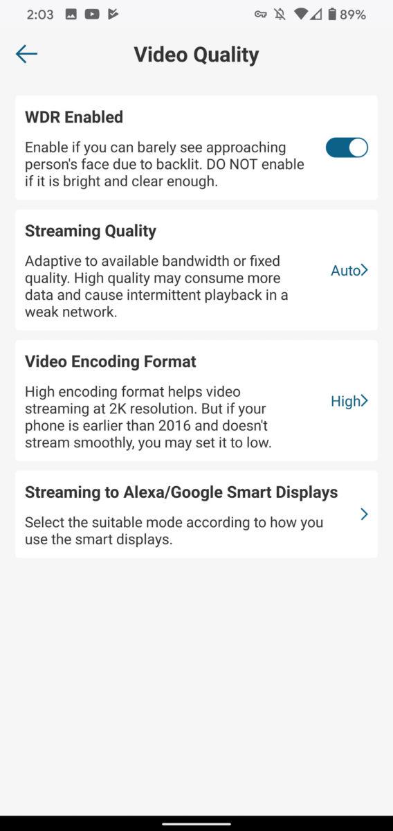 Eufy Video Doorbell качество видео
