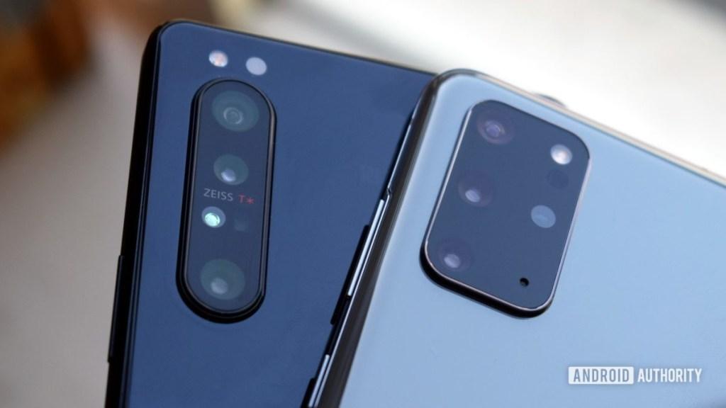 Galaxy S20 Plus и Xperia 1 II камеры 2