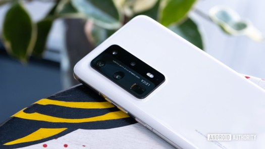 Huawei P40 Pro Plus camera on table