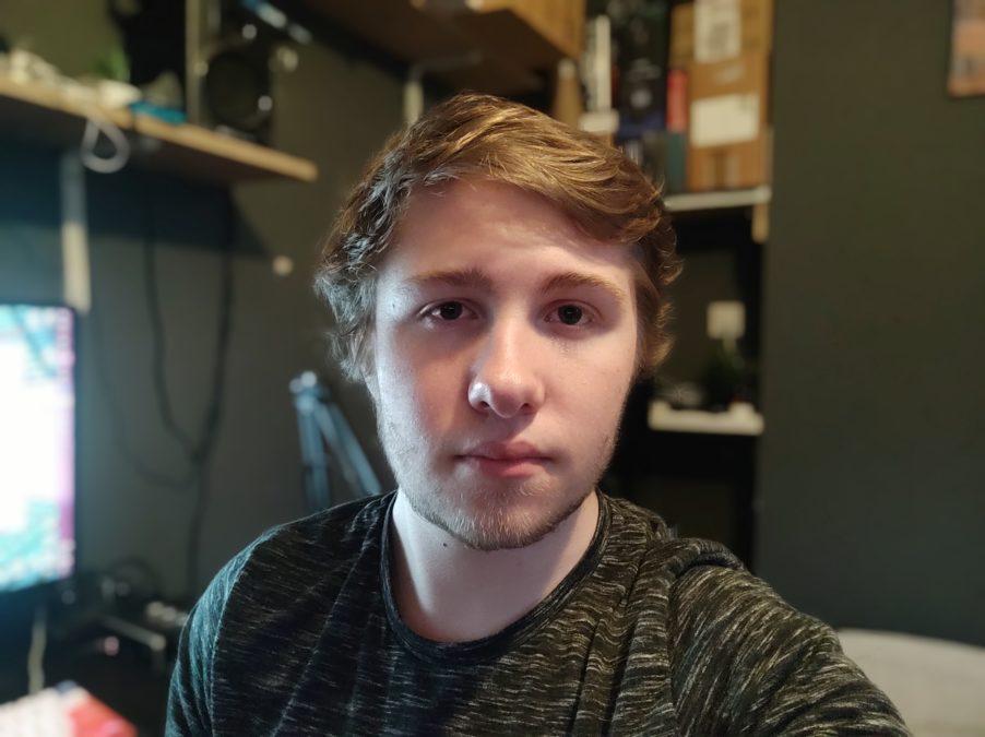 Poco F2 Pro камера для теста Potrait selfie