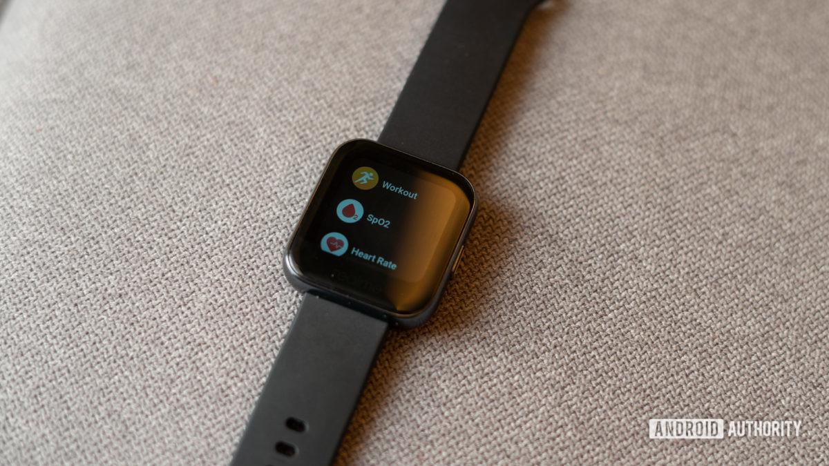 Realme Watch встроенные приложения