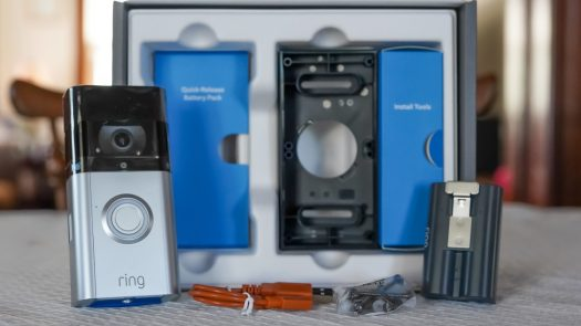 Ring Video Doorbell 3 Plus review install kit