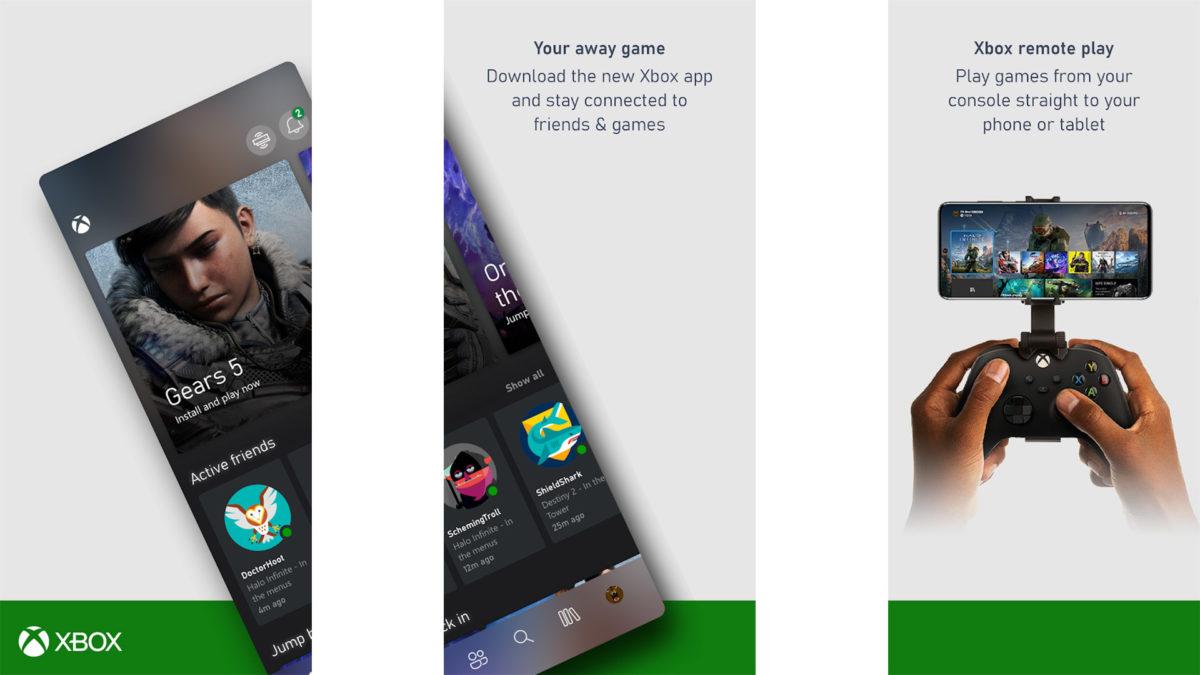 Xbox App screenshot 2020