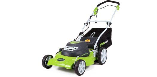 greenworks 20 inch corded mower