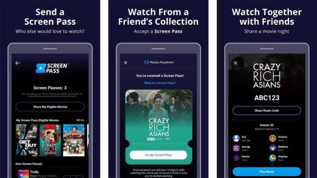 Movies Anywhere screenshot 2020