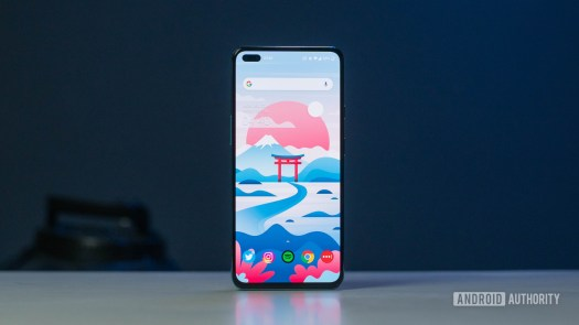 OnePlus Nord screen front angle
