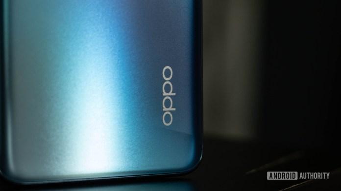 Oppo Reno 4 Oppo Logo