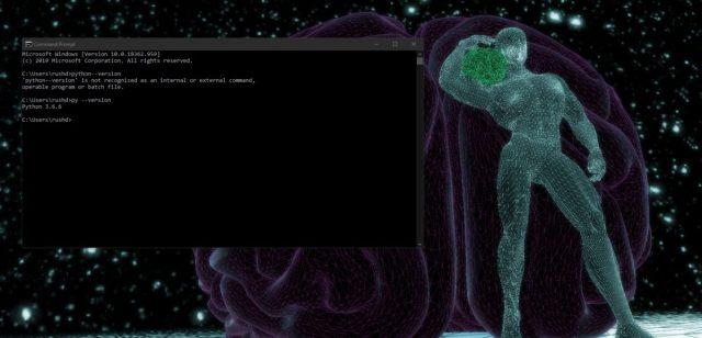 Python Version in Terminal