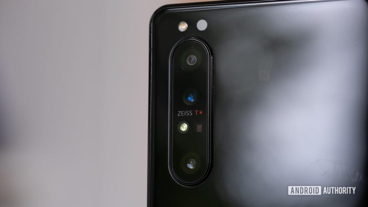 Macro 3 da câmera Sony Xperia 1 II