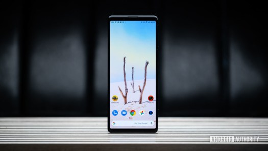 Sony Xperia 1 II front display
