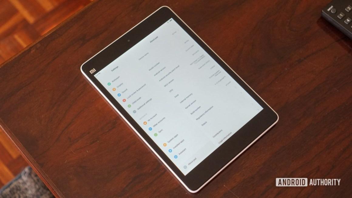 Xiaomi Mi Pad 1.