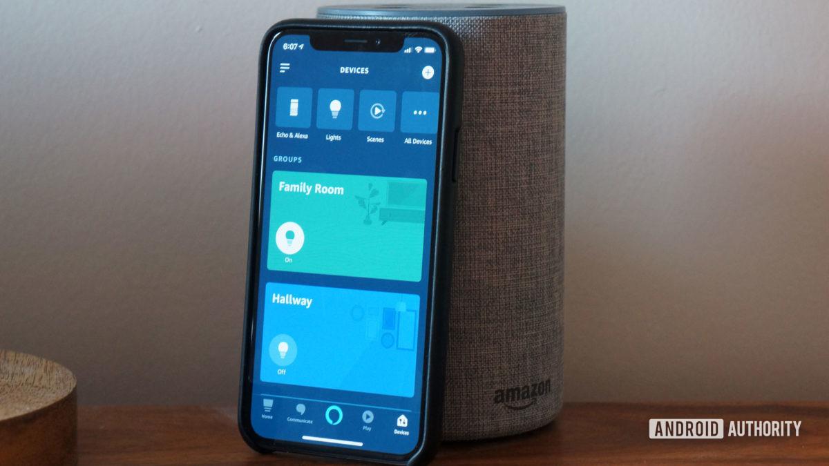 amazon echo динамик приложение alexa для iPhone