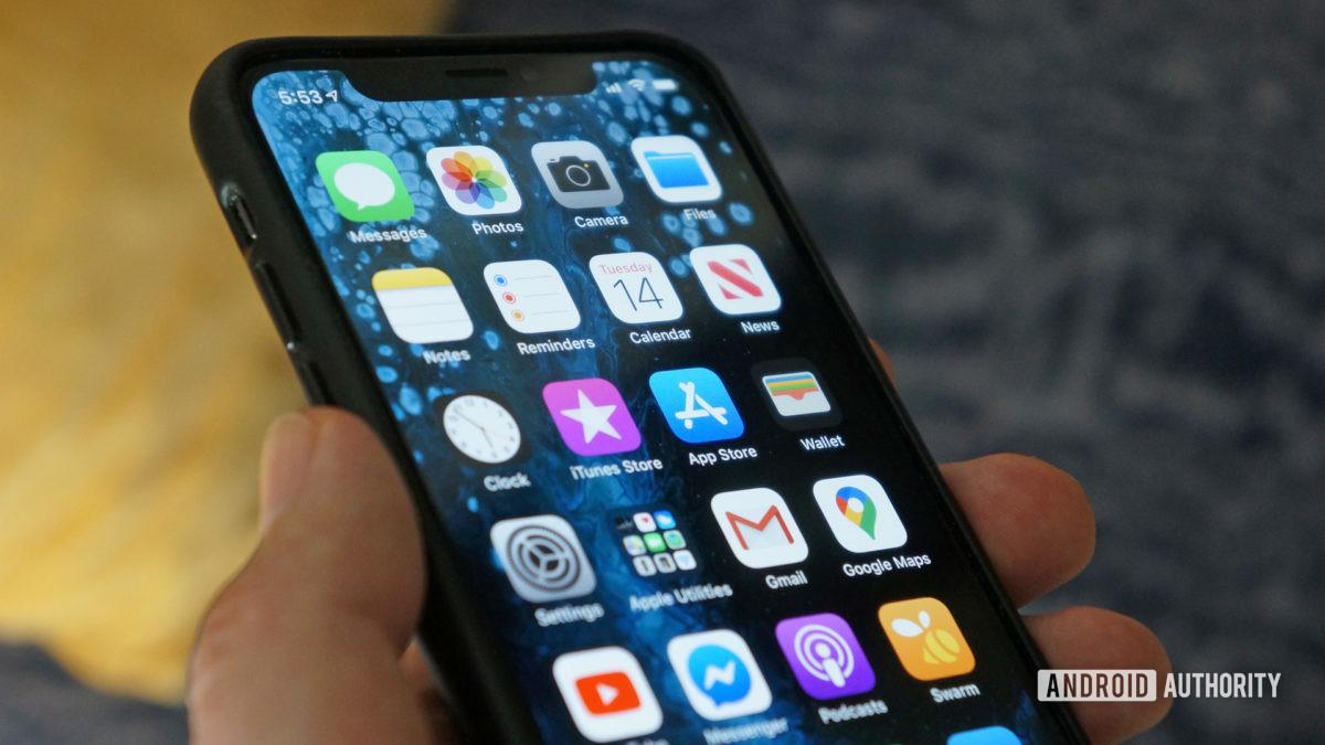 яблоко iphone xs iOS 13